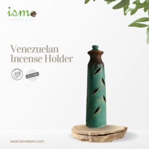 Venezuelan Incense Stick Turquoise green and Earth Duo